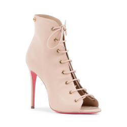 Dee Ocleppo Womens Ankle Boot Nude 5121111 NAPPA CIPRIA