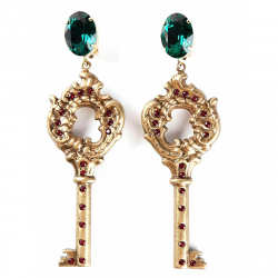 Dolce & Gabbana Earrings Key WEG6K1 W0001 ZOO00