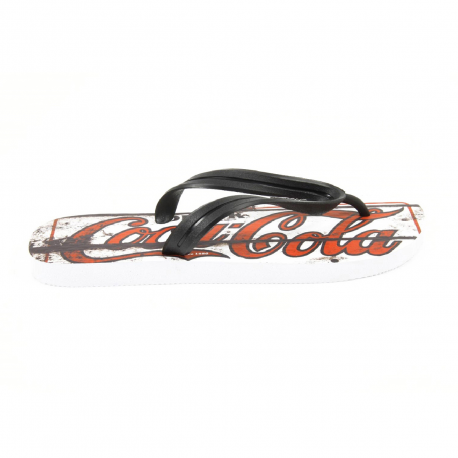 Coca Cola mens flip flop CCA0127 OLD BLACK
