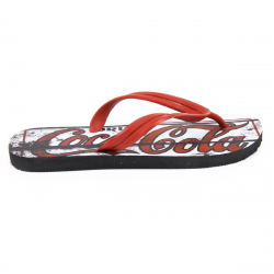 Coca Cola mens flip flop CCA0127 OLD RED