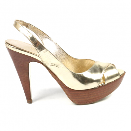 Sebastian Milano ladies sandal 2750 GOLD SPEC
