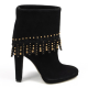 Sebastian Milano ladies ankle boot S3982 CAMOSCIO ML NERO