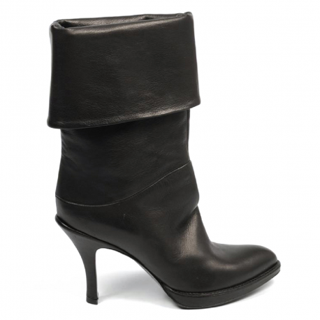 Sebastian Milano ladies ankle boot 4037 BLACK LOS ANGELES NERO