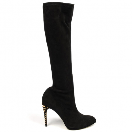 Sebastian Milano high boot S4045 CAM STRETCH CHIANCIANO NERO