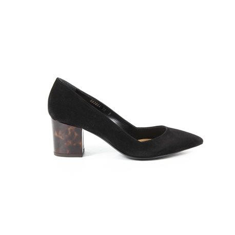 Ralph Lauren Womens Pump INES CALFSUEDE BLACK