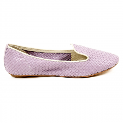 Dragon Diffusion Womens Ballerina SLIPPER LAVENDER ANT WHITE