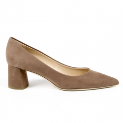 Andrew Charles Womens Pump Brown EVA