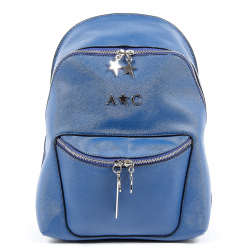 Andrew Charles Womens Backpack Blue NAOMI