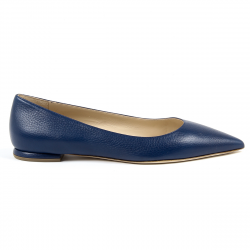 Andrew Charles By Andy Hilfiger Womens Ballerina Blue BALTIMORE