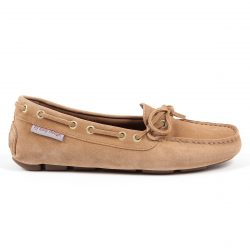 Andrew Charles Womens Loafer Camel CAMILLA