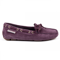 Andrew Charles Womens Loafer Purple CAMILLA