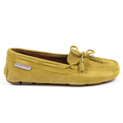 Andrew Charles Womens Loafer Yellow VICTORY