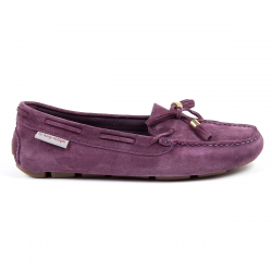 Andrew Charles Womens Loafer Purple VICTORY