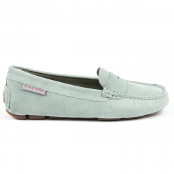Andrew Charles Womens Loafer Green MAX