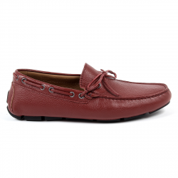 Andrew Charles Mens Loafer Dark Red STEVE