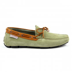 Andrew Charles Mens Loafer Green ROBERT