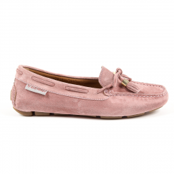 Andrew Charles Womens Loafer Pink VICTORY