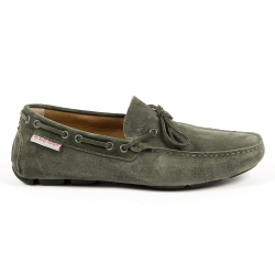 Andrew Charles Mens Loafer Dark Green STEVE