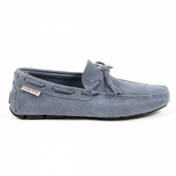 Andrew Charles Mens Loafer Blue STEVE