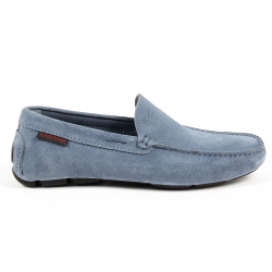 Andrew Charles Mens Loafer Blue TRON