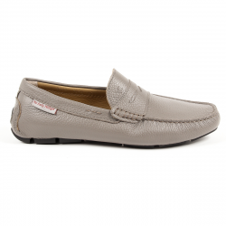 Andrew Charles Mens Loafer Grey JACKSON
