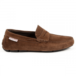 Andrew Charles Mens Loafer Brown JACKSON