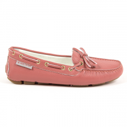 Andrew Charles Womens Loafer Pink GIULY