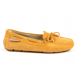 Andrew Charles Womens Loafer Orange SUNDAY