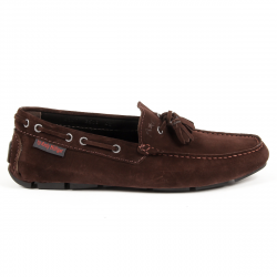 Andrew Charles Mens Loafer Brown JEREMY