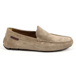 Andrew Charles Mens Loafer Taupe TRON