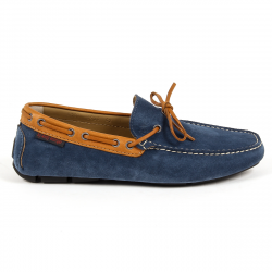 Andrew Charles Mens Loafer Blue ROBERT