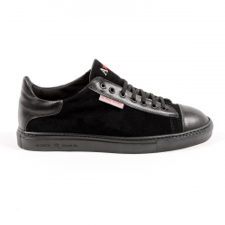 Andrew Charles Mens Sneaker Black TOM