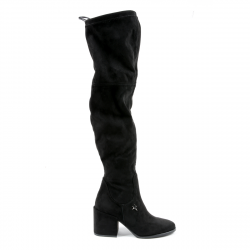 Andrew Charles Womens High Boot Black ALANNAH
