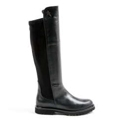 Andrew Charles Womens High Boot Black MILEY