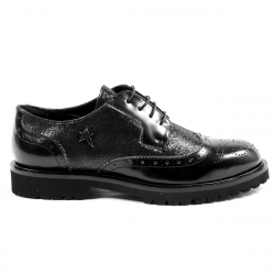 Scarpa Oxford Donna Andrew Charles Nera COURTNEY
