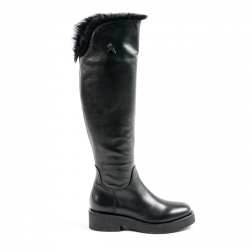 Andrew Charles Womens High Boot Black SUZI