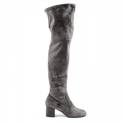 Andrew Charles Womens High Boot Grey MARIAH