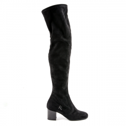 Andrew Charles Womens High Boot Black MARIAH