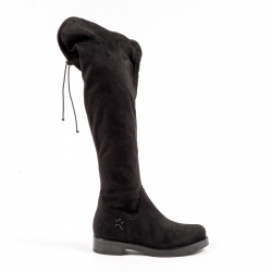 Andrew Charles Womens High Boot Black BRODY
