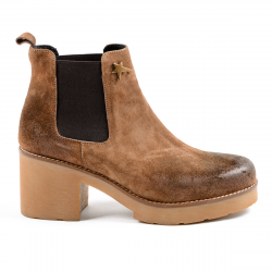 Andrew Charles Womens Ankle Boot Brown WENDY