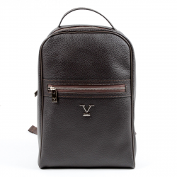 V 1969 Italia Mens Backpack Brown DUBAI