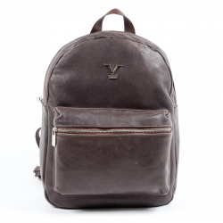 V 1969 Italia Mens Backpack Brown PRAGA