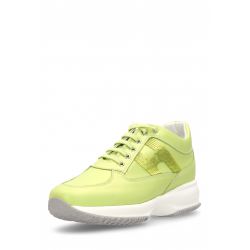 Hogan Womens Sneaker Green Interactive HXW00N0564177V4V405