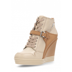 Hogan Womens Ankle Boot Beige HXW1810I09000PF903X