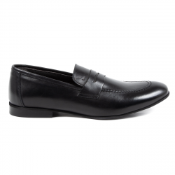 V 1969 Italia Mens Loafer Black ADAM