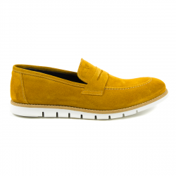 Andrew Charles Mens Loafer Yellow SEAN