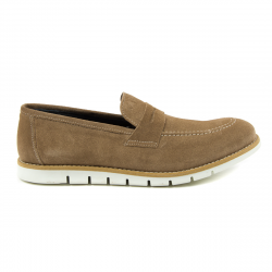 Andrew Charles Mens Loafer Taupe SEAN
