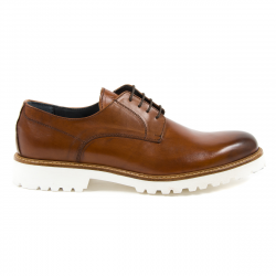 Andrew Charles Mens Classic Shoe Brown DAVE