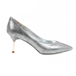 V 1969 Italia Womens Pump Silver GALAXY