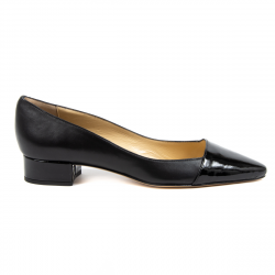 V 1969 Italia Womens Ballerina Black CHARITY